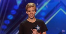 Cody The Twirler 14 Year Old Puts a Fun Spin on Baton Twirling America's Got Talent 2016