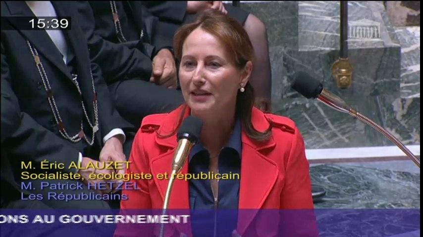 Programmation pluriannuelle de l'énergie : S. Royal répond à une question au Gouvernement