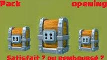 {RÉUPLOAD} - Clash Royale fr - Pack Opening #2 - ouverture d'un giant chest (arène 3)