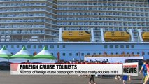 1.5 million tourists will visit Korea on cruise trips during 2016: maritime ministry