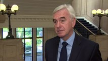John McDonnell insists Labour MPs must serve the UK