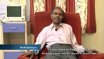 Mr M Uppalayya shares his experience on heart bypass surgery at CARE Hospitals, Hyderabad