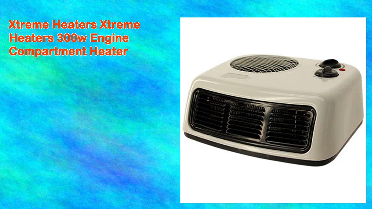 Xtreme Heaters Xtreme Heaters 300w Engine Compartment Heater