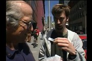 Tom Green meets man with Parking Meter Stickers