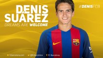 Denis Suárez, first signing for FC Barcelona 2016/17