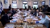 Netanyahu réagit après la mort d'Elie Wiesel