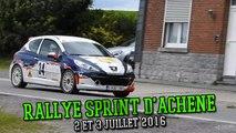 Rallye Sprint d'Achêne 2016 (Zoning d'Achêne) 2 et 3 juillet 2016 [HD]