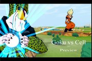 SSJ Goku vs Perfect Cell 2