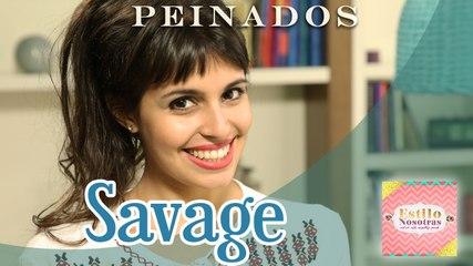Peinados savage, Peinados by Brenda Caretto | ESTILO NOSOTRAS