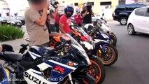 Brazil: Crazy Bikers!!! Hornet, Bmw S1000rr, Repsol 1000rr, Yamaha R6 & Suzuki GSX-r
