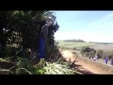 58 Meters Rally Jump - VW Gol Maxi Rally - South America