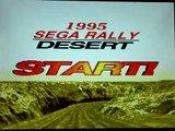 "Sega Rally Time Trial (Arcade mode) 3'17""76 sega saturn."