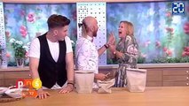 """Un """"magicien"""" perce la main d'une présentatrice TV ! - Le rewind du lundi 4 juillet 2016."""