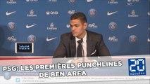 PSG: Le Top 5 des punchlines de Ben Arfa à sa présentation