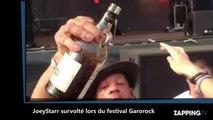 JoeyStarr survolté au festival de Garorock, il surprend ses fans