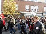 Aulnoy Lez Valenciennes Parti socialiste Manifestation 28 octobre Valenciennes