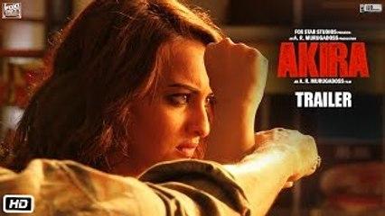 Akira - HD Hindi Movie Trailer [2016] Sonakshi Sinha - A.R. Murugadoss