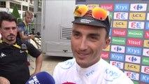 Cyclisme - Tour de France : Alaphilippe «Un grand plaisir de porter le maillot blanc»