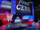 WWE RAW 25/4/11-John Cena Draft to SmackDown & Back to Raw Again