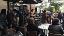 Groupe de musique au coin de la rue pour le Voyage à Nantes
