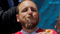 "Joey ""Jaws"" Chestnut Eats 70 Hot Dogs in 10 Minutes"