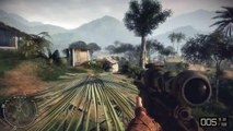 EXPLOSIONS EVERYWHERE! BATTLEFIELD BAD COMPANY 2 VIETNAM GAMEPLAY!