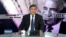 I24news rend hommage à Elie Wiesel