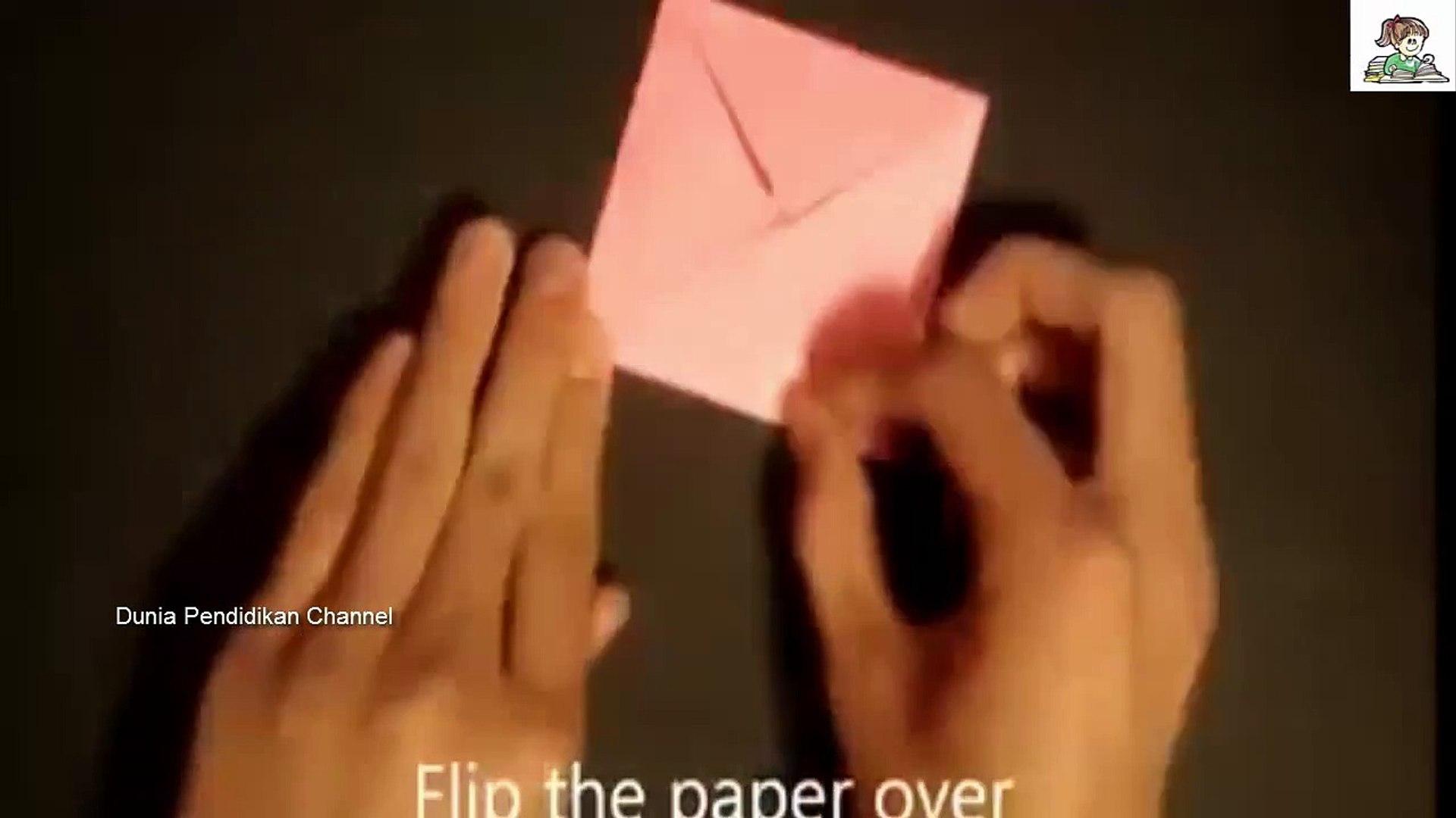 Origami Flower Cara Membuat Bunga Dari Kertas Lipat Origami 19 Video Dailymotion