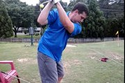 "D.H. 6/4/15 golf swing ""Impact Snap"""