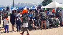 15 05 25 월 홍새 체육 대회 1  줄 다리기 준비