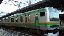 【JR】E231系1000番台コツK-22 大船発車