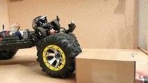 Crawler Duell - Losi Micro Rock Crawler 1:24 vs. Traxxas Summit 1:10