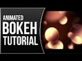 SLEEK Motion Background TUTORIAL │ Create and ANIMATE Bokeh In AFTER EFFECTS!