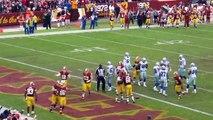 Dallas Cowboys @ Washington Redskins  24-23 - Redskins Second Touchdown (December 2013)