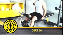 Full Golds Gym XRS 20 Olympic Workout Bench Bodybuilding Lift Heavy Home Gym www doxxins com