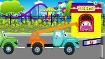 Cars & Trucks Cartoons for children - The Tow Truck - Service Vehicles. Emergency Kids Cartoon