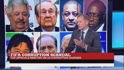 Live studio chat on FIFA arrests for France 24