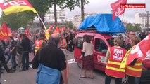 Rennes. Autour de 1.200 manifestants contre la loi Travail