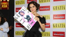 Kangana Ranaut Launches Grazia Magazine Cover | Events Asia