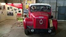 La galerie du camion ancien à Montceau-les-Mines en Saône-et-Loire