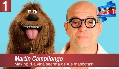 """Making """"La vida secreta de tus mascotas"""" (parte I), por Javier Ponzone"""