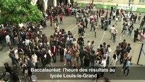 Baccalauréat: l'heure des résultats au lycée Louis-le-Grand