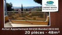 A vendre - appartement - 83150 Bandol (83150) - 20 pièces - 48m²