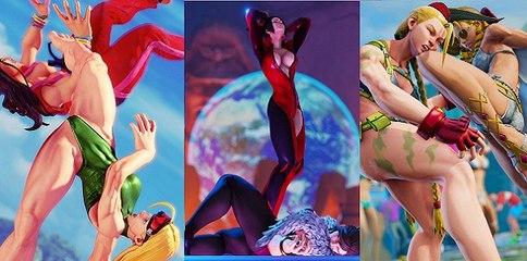 Espectaculares imágenes de luchadoras de Street Fighter V