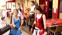 Troupe médiévale à Carcassonne 17/06/2014