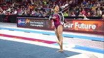 DU Gymnastics: Nina McGee Floor Routine (9.975) - 3/7/15