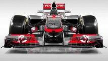 2012 Vodafon Mclaren Mercedes new F1 car - MP4-27