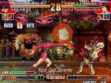 king of fighters KOF 97 neo geo Combos 2