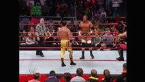 Batista & Triple H vs. Chris Benoit & Chris Jericho: Raw, Dec. 6, 2004