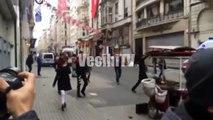 Istanbul Taksim İstiklal Caddesi Bomba patlama 19 Mart 2016 Yaşanan Korkunç Olay Haber